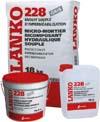 lanko 228 雙劑型彈性防水複合泥